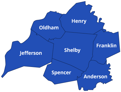 Shelby Septic Coverage Map